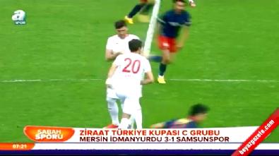 Mersin İdmanyurdu Samsunspor: 3-1 Maç Özeti ve Golleri (Türkiye Kupası 17 Aralık 2014)