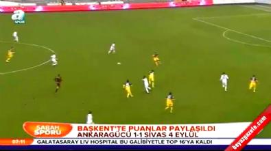 Ankaragücü Sivas Dört Eylül Belediyespor: 1-1 Maç Özeti ve Golleri (Türkiye Kupası 18 Aralık 2014)