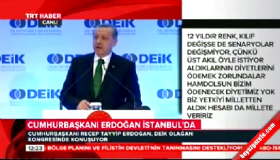 Cumhurbaşkanı Erdoğan: Gazeteciler suç işlemiyor mu?