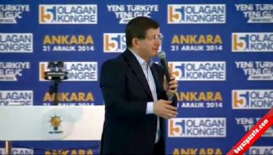 Ahmet Davutoğlu'nun AK Parti Ankara İl Kongresi konuşması...
