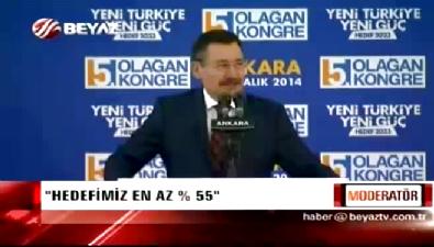 Melih Gökçek AK Parti Ankara İl Kongresi'nde konuştu...