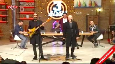 3 Adam'da Mazhar Alanson&Özkan Uğur'dan Ah Bu Ben Canlı Performans Haberi