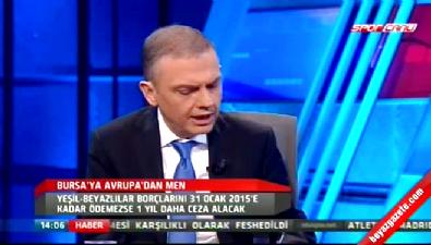 barcelona - Ercan Taner UEFA'nın Bursaspor kararını yorumladı...