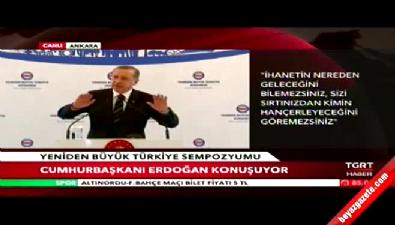 Cumhurbaşkanı Erdoğan: Dönemin haşhaşisi oldular