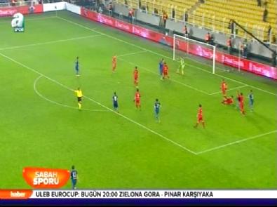 Fenerbahçe Kayserispor: 1-2 Türkiye Kupası Maç Özeti (2 Aralık 2014)
