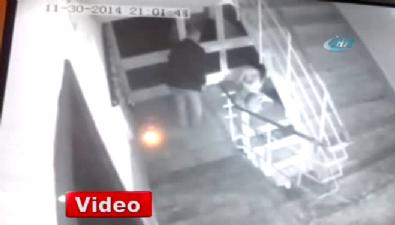 Kadın cinayeti kamerada