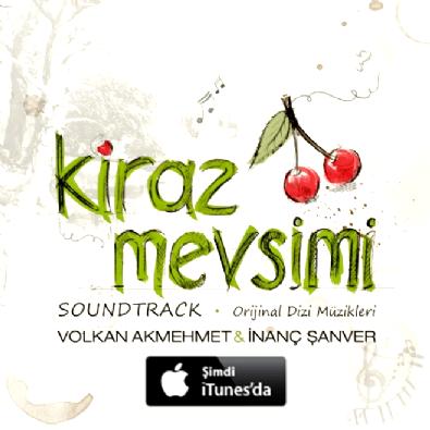 dizi muzikleri - Kiraz Mevsimi Soundtrack albümü | DokuzSekiz müzik