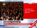 Erdoğan: AK Partiden Emirle İstifa Ettiler