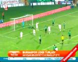 Bursaspor Akhisar Belediyespor: 3-0 Maçın Özeti