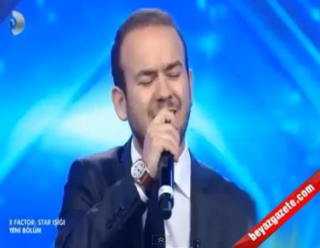 X Factor Türkiye Star Işığı - Cumali Özkaya 'Makber' Performansı