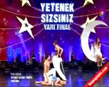 Yetenek Sizsiniz Türkiye - Çetin ve Boncuk Yarı Final Akrobasi Dans Gösterisi