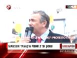 Mansur Yavaşa Protesto Şoku
