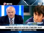 Rıdvan Dilmen: Fırat Aydınus, Melo'ya Değil Yardımcı Hakeme Küfür Etti