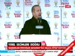 AK Parti Aksaray Mitingi 2014 - Başbakan Erdoğan'dan Çok Sert Sözler