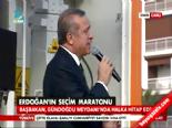 Başbakan Erdoğan'dan orta parmak yapan kadına cevap
