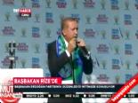 AK Parti Rize Mitingi 2014 - Erdoğandan Bozkurt Selamına Tepki