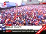 Recep Tayyip Erdoğan Kocaeli'de konuştu (1)