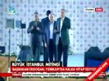 AK Parti İstanbul Mitingi 2014 - Başbakan Erdoğan'dan Dombra Sürprizi