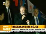 Başbakan Erdoğandan Demetevler Mahallesine Kentsel Dönüşüm Sözü