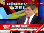 Ahmet Davutoğlu: Nagehan Alçı'yı Tebrik Ederim