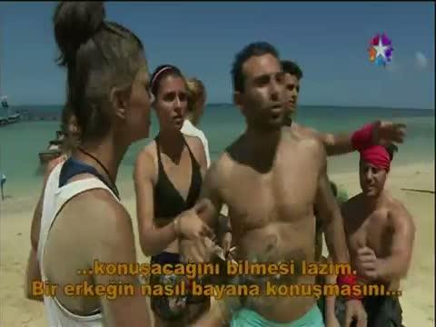 Survivor 2014 - Turabi Çamkıran Herkese Meydan Okudu!