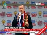 AK Parti Eskişehir Mitingi 2014 - Kılıçdaroğlu'nun Anne Gafına Başbakan Erdoğan'dan Sert Tepki
