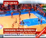 Galatasaray Odeabank Fenerbahçe: 69-58 Bayan Basketbol Maç Sonucu (13 Nisan 2014)