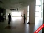 Satırla Hastaneyi Bastı