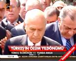 MHP'nin Kurucusu Alparslan Türkeş, 17. Ölüm Yıl Dönümünde Mezarı Başında Anıldı