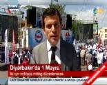 Diyarbakır'da İstasyon'da Memur-Sen, Dağkapı'da KESK Miting Yapıyor (1 Mayıs 2014 İşçi Bayramı)