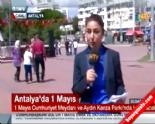 1 Mayıs İşçi Bayramı Antalya'da Yavuz Özcan Parkı ve Cumhuriyet Meydanı'nda Kutlanıyor