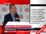 Başbakan Erdoğan'dan Mansur Yavaş Çıkışı
