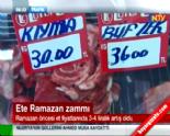 Ramazan Ayının Gelmesiyle Et Fiyatları Zamlandı (Et Balık Kurumu Et Fiyatları)  online video izle
