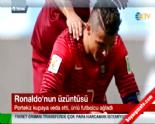2014 Dünya Kupası'ndan Elenen Portekiz'in Yıldızı Cristiano Ronaldo Saha Kenarında Ağladı
