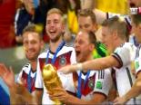 Almanya Arjantin: 1-0 Dünya Kupası Final Maç Sonucu (Kupa Töreni)