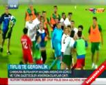Bursaspor Chikhura UEFA Maçı Sonrası İki Takım Taraftarları Arasında Kavga Çıktı