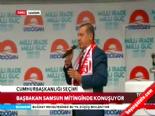 Cumhurbaşkanı adayı ve Başbakan Erdoğan'ın Samsun Mitingi