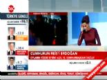 12. Cumhurbaşkanı Erdoğan Esenboğa Havalimanı'nda online video izle