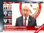 YSK Başkanı Sadi Güven: İlk Sonuçlara Göre Recep Tayyip Erdoğan Kazanmıştır online video izle
