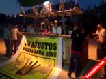 Kapadokya'da Balonlar Rabia Pankartlarıyla Havalandı  online video izle