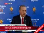 Cumhurbaşkanı Seçilen Recep Tayyip Erdoğanın Veda Konuşması...