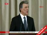Cumhurbaşkanı Gül'den 'son' resepsiyon online video izle