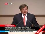 Yeni Başbakan Ahmet Davutoğlu'nun Teşekkür Konuşması online video izle