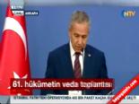 Cumhurbaşkanı Abdullah Gül'den veda mesajı
