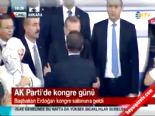 Tayyip Erdoğan kongre salonuna girdi (AK Parti 1.Olağanüstü Kongresi)  online video izle