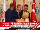 AK Parti Kongresi'nde Kız çocuğu, Erdoğan'a neler söyledi?