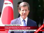 Ahmet Davutoğlu Dışişleri personeli ile vedalaştı  online video izle