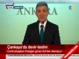 Abdullah Gül'ün Cumhurbaşkanlığı devir teslim törenindeki konuşması online video izle