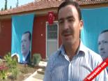Cumhurbaşkanı Erdoğan'a vatandaştan sevgi gösterisi