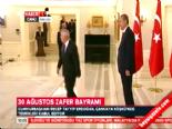 Cumhurbaşkanı Erdoğan, Çankaya Köşkü'nde tebrikleri kabul etti  online video izle
